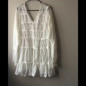 Free People Sheer Boho Lace Dress